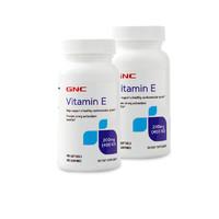 88VIP:GNC 健安喜 天然维生素E 400IU软胶囊 100粒*2瓶