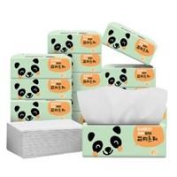 包邮 理文抽纸餐巾纸卫生纸家用实惠装面巾纸抽婴儿擦手纸12包