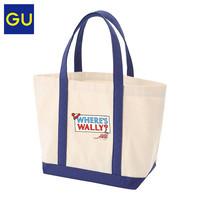 GU极优托特包Wally联名款系列时尚潮流可爱单肩手提包纯棉326932