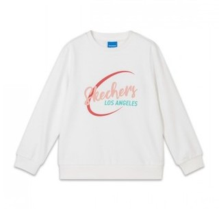 SKECHERS 斯凯奇 女童针织套头卫衣 L120G009