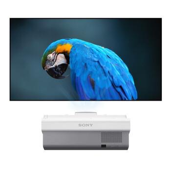 索尼(SONY)超短焦投影仪 高清会议 教育教学投影机 VPL-SW631(宽屏 3300流明) 官方标配