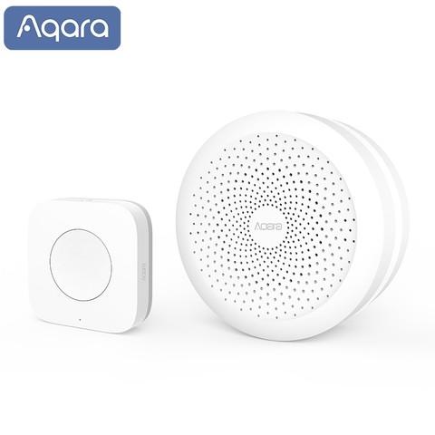 Aqara 绿米联创 智能门铃套装 网关+无线开关升级版