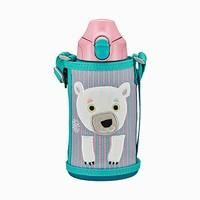 TIGER虎牌 2020年新款儿童保温杯MBR-C06G 吸管杯 600毫升日版