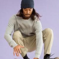 UNIQLO 优衣库 419184 男士羊绒混纺针织衫