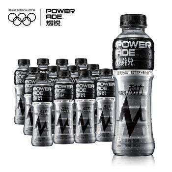 可口可乐 Coca-Cola 爆锐耐力 PowerAde Nai运动饮料 500ml*12 整箱装 可口可乐公司出品 *2件