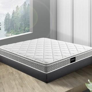 顾家家居 床垫 软硬两用乳胶独袋静音弹簧席梦思床垫1.8米 M0001J梦想垫  180*200*22cm