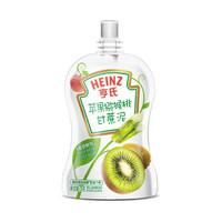 亨氏 (Heinz) 婴幼儿辅食 苹果猕猴桃泥 超金果泥宝宝辅食营养78g (辅食添加初期-36个月适用) *7件