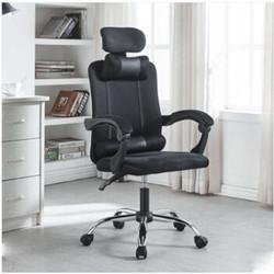 LISM 电竞椅子 黑色 可躺+升降 铁钢脚