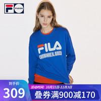 FILA FUSION斐乐女子卫衣2 稠蓝-DB(宽松版型,建议拍小一码) 175/92A/XL