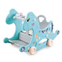 源乐堡 婴儿多功能摇摇马宝宝儿童四合一平衡摇车木马摇椅玩具