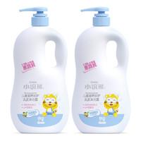 小浣熊 儿童洗发水沐浴露二合一1.15L