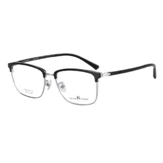 Helen Keller 海伦凯勒 商务眼镜框26129 康视顿1.67折射率 防蓝光镜片 2片