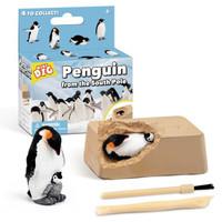 哦咯 创意DIY挖掘 企鹅海盗 宝藏宝石