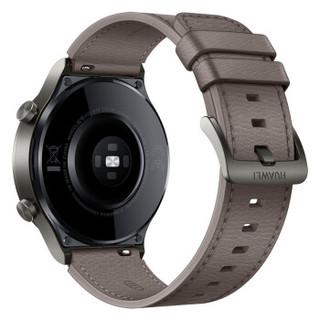 HUAWEI 华为 GT系列 WATCH GT 2 Pro 运动智能手表 46mm 蓝牙版 星云灰