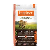 双11预售、88VIP:Instinct 百利 生鲜本能无谷三文鱼全猫粮 10磅