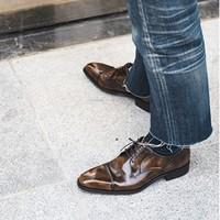双11预售 : REGAL 丽格 T46B 男士商务正装鞋