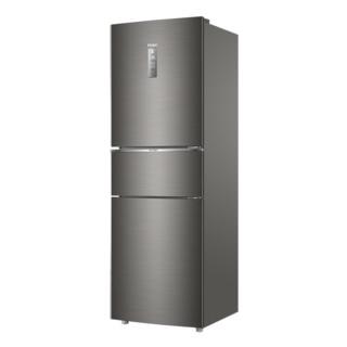 Haier/海尔 BCD-253WDPDU1三开门变频风冷节能家用官方小型电冰箱