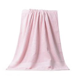 1条装纯棉浴巾家用柔软吸水亲肤舒适简约素色