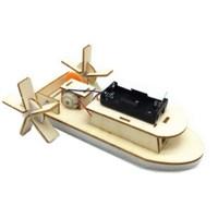 OLOEY  diy自制电动明轮船