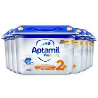 Aptamil 爱他美 白金版双重HMO幼儿配方奶粉 2+段 800g*8