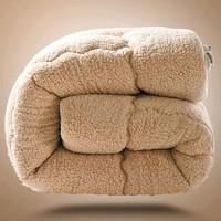 沿蔻家纺 春秋羊羔绒被芯 150*200cm 约5斤