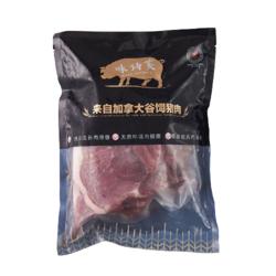 味诗芙 带骨猪大排800g 加拿大进口猪排片猪里脊 猪肉脯猪肉干猪肉松原料 猪肉生鲜 *2件