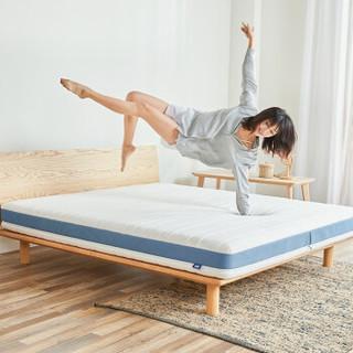 8H 乳胶床垫防螨款M3Pro 小米双人床垫透气款 独袋静音弹簧席梦思床垫 午夜蓝 1500*2000床垫