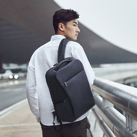 小米双肩包商务旅行背包大容量书包男士时尚多功能笔记本电脑包