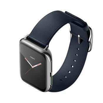 OPPO Watch 精钢版 智能手表 LTE版 46mm 皓银