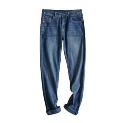 JEANSWEST 真维斯 JY-02-181011 男士直筒牛仔裤
