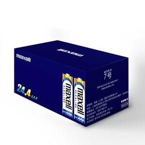 Maxell 麦克赛尔 7号碱性电池 28粒装