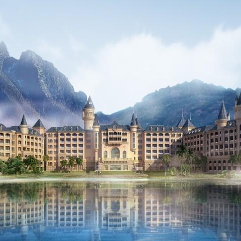 广东 英德奥园希尔顿逸林度假酒店 豪华客房1晚(含双早+晚餐+水世界门票2张)