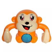 山狗  益智声光 电动翻斗猴玩具