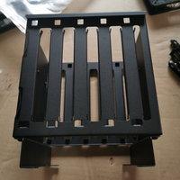 乔思伯QT01光驱位5.25寸标准转接硬盘支架 3转5 5硬盘多硬盘支架