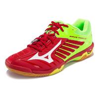 Mizuno 美津浓 Wave Fang RX2 中性羽毛球鞋 71GA170501 中国红/白/荧光绿 41
