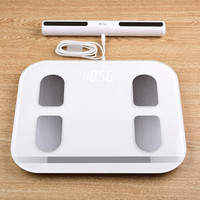 新域八电极智能体脂秤 家用体重秤 精准测脂肪秤 电子秤 人体健康秤 八电极测脂