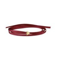 APM Monaco WONDERLAND系列 红色缎带项圈手链