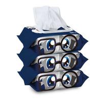 卫宠宠物湿巾 狗狗湿巾纸清洁去污擦泪痕猫咪眼部湿纸巾用品 套装组合100片*3包 *5件