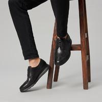 双11预售 : COLE HAAN 可汗 C27984 雕花真皮牛津鞋
