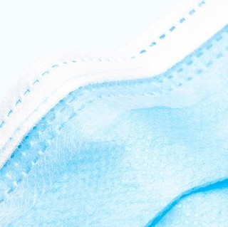 华灿无限 一次性医用外科口罩 蓝色 50只/包