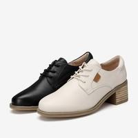 百思图 CD121CM0 女士休闲皮鞋 *3件