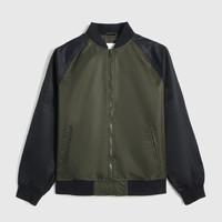 Gap 盖璞 000635312 男装 徽标LOGO撞色插肩袖棒球领外套