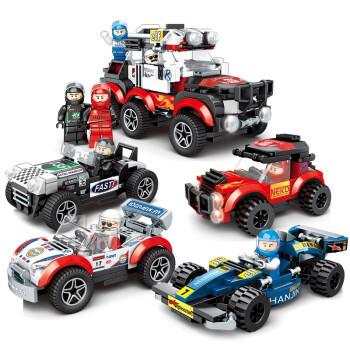 汇奇宝 儿童军事拼装积木玩具致敬逆行者兼容乐高积木汽车飞机模型玩具男孩女孩6-12岁 整套四盒