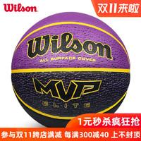 Wilson威尔胜篮球7号室外水泥地耐磨橡胶篮球女子6号儿童篮球5号