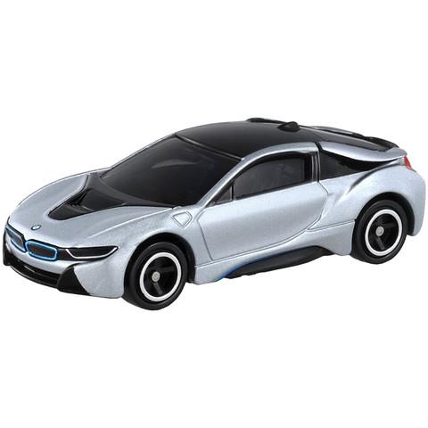 TAKARA TOMY 多美 合金小汽车模型 7号宝马i8 859987