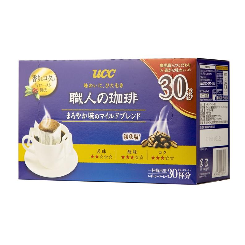 UCC 悠诗诗 滴滤式职人咖啡粉 30p/盒 210g