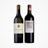 88VIP:骑士庄园 法国波尔多 金月古堡干白/二级名庄 爱士图尔 干红葡萄酒 2支