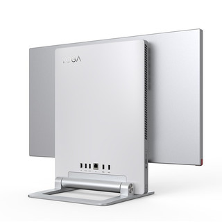 Lenovo 联想 YOGA 27 27英寸 一体机 银色 锐龙R7-4800H 32GB 512GB SSD+2TB HDD RTX 2060 6G
