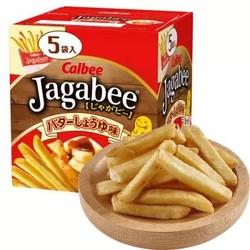卡乐比  薯条三兄弟  黄油酱油味薯条零食 80g *7件