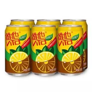 维他奶 维他柠檬茶饮料 310ml*6罐 *3件